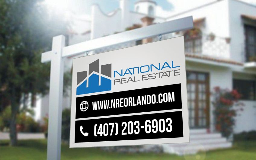 National Real State – Sign Board